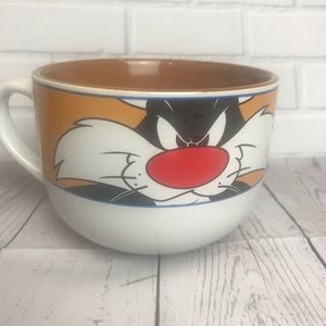 VTG 1990s SYLVESTER SOUP BOWL/XL COFFEE MUG-GIBSON